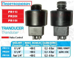 Датчик давления воды HUBA FERROLI Econcept ; Производитель : HUBA - Код товара : PR11I