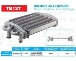Теплообменник битермический  DEMRAD TAYROS ; Производитель : WALMEX - Код товара : TB12T