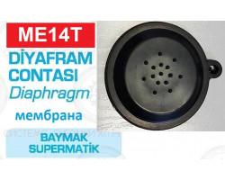 Мембрана (с  ухом)  baymak Supermatik диаметр 46 мм, Westen, Baxi ; Производитель : EHS - Код товара : ME14T