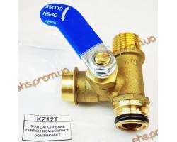 Кран подпитки FERROLI DOMICOMPACT DOMIPROJECT, короткий ; Производитель : ELTEK - Код товара : KZ12T