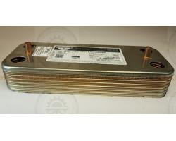 ПЛАСТИННЫЙ  ТЕПЛООБМЕННИК  12  ПЛАСТИНЫ Ariston, 192 x 154 x 142 mm.  ; Производитель : ZILMET - Код товара : PT36I