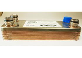 ПЛАСТИННЫЙ  ТЕПЛООБМЕННИК, VAILLANT VUW PRO , 12 ПЛАСТИНЫ 192 x 154 x - mm. ; Производитель : SWEP / ZILMET - Код товара : PT27I