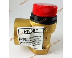 ПРЕДОХРАНИТЕЛЬНЫЙ КЛАПАН  3/4 ECA резьба внутренняя ; Производитель : ECA - Код товара : PK38T