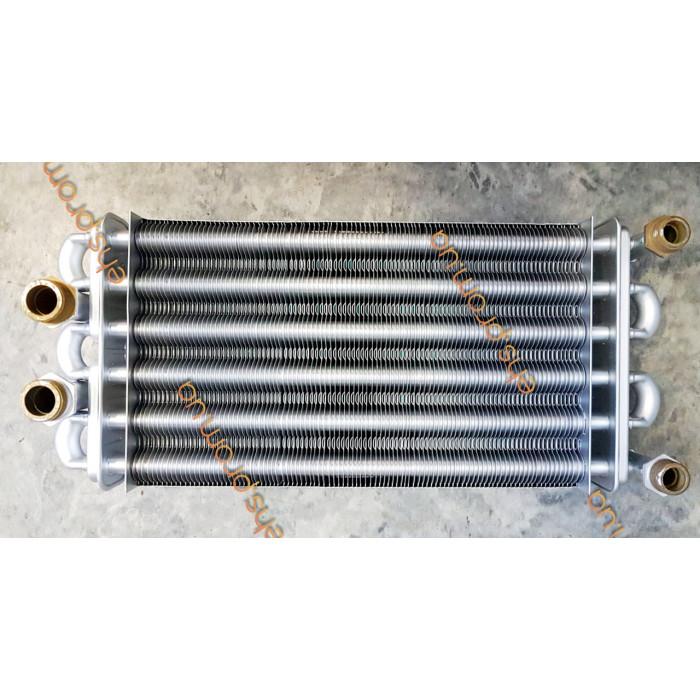 Теплообменник битермический  ECA CALORA BUDERUS DELTA 297 mm ; Производитель : КИТАЙ - Код товара : TB15K