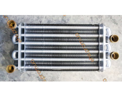 Теплообменник битермический  270mm BAXI WESTEN ROCA NEOBIT , ROCTERM DIAMOND PRAGA