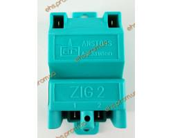 Трансформатор розжига Anstoss ZIG 2/25 зеленый 0504502, Б/У , ECA, Saunier Duval ; Производитель : ANSTOSS ZIG - Код товара : TR13I2