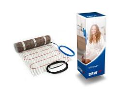 Тепла підлога, нагрівальний мат DEVIheat 150S 0.5 кв. м 75W (140F0328)