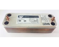 Пластинчастий теплообмінник 16 пластин ZILMET сумісний DEMRAD PT23V
