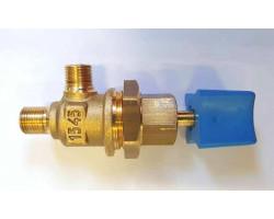 Кран підживлення води латунний в зборі з ручкою Beretta Ciao N, Smart, Super Exclusive, R10022511 BERETTA