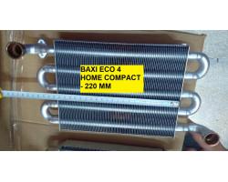 Монотермічний теплообмінник WESTEN, 5700950 КИТАЙ сумісний BAXI TB41K