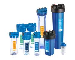 Системы очистки воды Насосы плюс оборудование SF10-2, двойная фильтрация, прозрачные