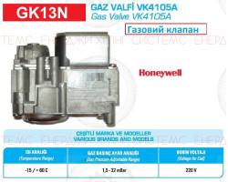 Газовый клапан VK4105A ; Производитель : HONEYWELL - Код товара : GK13N