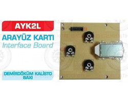 Demrad Calisto Interface Board ; Производитель : BERTELLI & PARTNERS - Код товара : PU47T