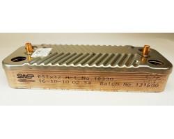 Пластинчастий теплообмінник 12 пластин SWEP сумісний ARISTON PT25I