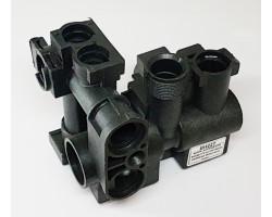 Триходовий клапан Пластиковий EHS сумісний DEMRAD BH22T