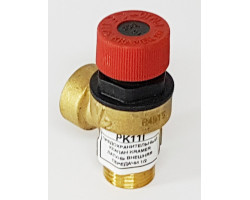 Предохранительный клапан безопасности внешняя резьба 1/2 ECA PK11I