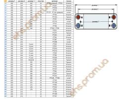 ПЛАСТИННЫЙ  ТЕПЛООБМЕННИК, BAXI, 12 ПЛАСТИНЫ РОВНЫЕ 210 x 172 x 156 mm. ; Производитель : EHS - Код товара : PT12T