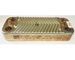 Пластинчастий теплообмінник 12 пластин SWEP сумісний ARISTON PT13I