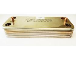 Пластинчастий теплообмінник 12 пластин ZILMET сумісний DEMRAD PT24I