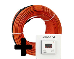 Тепла підлога Volterm HR12 двожильний кабель, 1650W, 11,1-13,9 м2(HR12 1650)