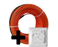 Тепла підлога Volterm HR18 двожильний кабель, 1050W, 6-7.5 м2(HR18 1050)