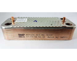 Пластинчастий теплообмінник 16 пластин SWEP сумісний ARISTON PT25S