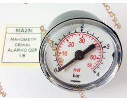 МАНОМЕТР CEWAL ALARKO Q28 1/8  ; Производитель : CEWAL - Код товара : MA25I