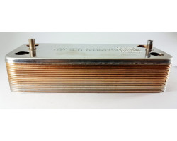 Пластинчастий теплообмінник 16 пластин ZILMET сумісний ARISTON PT15Z