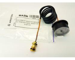 Манометр 65114200 60000725 CEWAL сумісний ARISTON MA29I