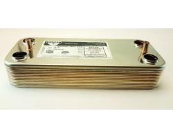 Пластинчастий теплообмінник 12 пластин ZILMET сумісний ARISTON PT13Z