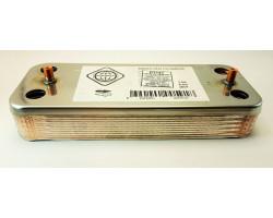 Пластинчастий теплообмінник 12 пластин GENEROUS сумісний ARISTON PT14T