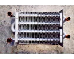 Бітермічний теплообмінник 220 мм 250X180 КИТАЙ сумісний BERETTA CIAO CSI TB33K