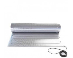Тепла підлога In-Therm AFMAT 150 алюмінієвий мат 150 Вт/м. кв. 0.5/8 м (AFMAT 600)