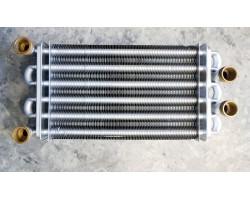 Бітермічний теплообмінник 270мм КИТАЙ сумісний BAXI TB19B