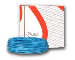Тепла підлога Nexans TXLP/2R 400/17 двожильний кабель 2,4-2,9 м2(000000714)