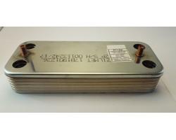 Пластинчастий теплообмінник 12 пластин ZILMET сумісний ARISTON PT13V