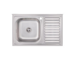 Кухонна мийка Imperial 5080-L Satin (IMP5080LSAT)