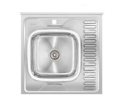 Кухонна мийка Imperial 6060-L Polish (IMP6060L06POL)