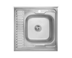 Кухонна мийка Imperial 6060-R Satin (IMP6060R06SAT)