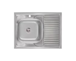 Кухонна мийка Imperial 6080-L Satin (IMP6080L06SAT)