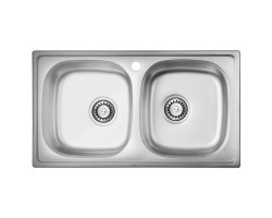 Кухонна мийка ULA 5104 Satin (ULA5104SAT08)