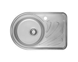 Кухонна мийка ULA 7111 L Micro Decor (ULA7111DEC08L)