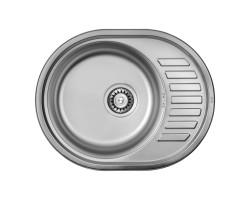 Кухонна мийка ULA 7112 U Satin (ULA7112SAT08)