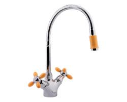 Змішувач для кухні з рефлекторним виливом Potato P5860-10
