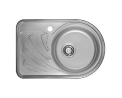 Кухонна мийка ULA 7111 R Micro Decor (ULA7111DEC08R)