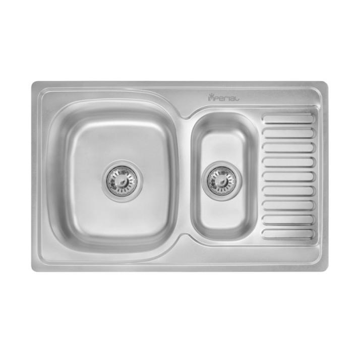 Кухонна мийка Imperial 7850 Satin (IMP7850SATD)