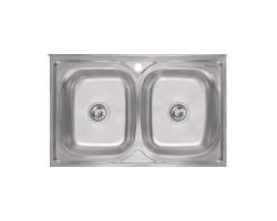 Кухонна мийка Imperial 5080 Decor (IMP5080DECD)