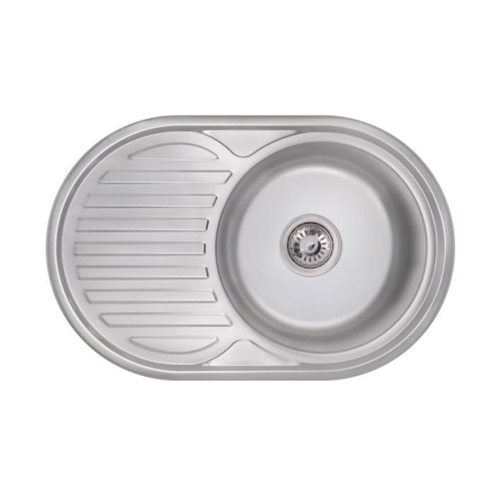 Кухонна мийка Lidz 7750 0,6 мм Polish (LIDZ775006POL)