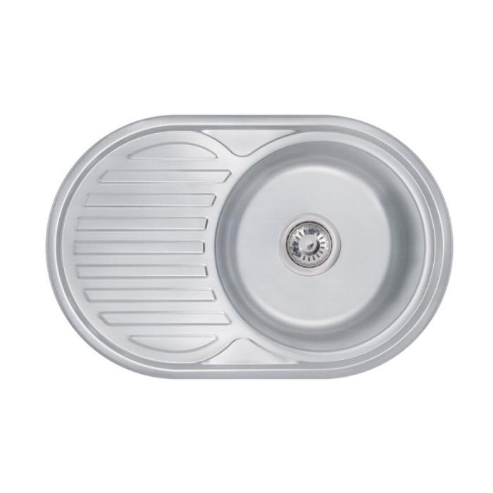 Кухонна мийка Lidz 7750 0,6 мм Decor (LIDZ775006DEC)