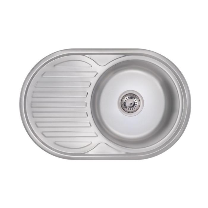 Кухонна мийка Lidz 7750 Polish 0,8 мм (LIDZ7750POL)